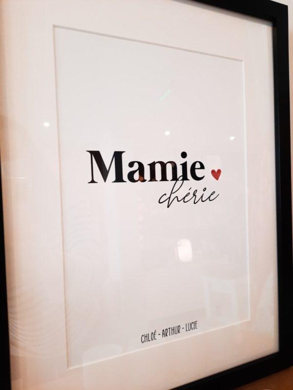 affiche-mamie-chérie-prénom-personnalisation3